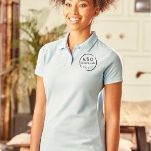 Personalised Ladies Polo Shirt (Russell 539F)
